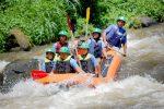 new gangga rafting on the river