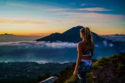 challenge yourself on Bali's Mount-Batur Sunrise Point After Dawn tour
