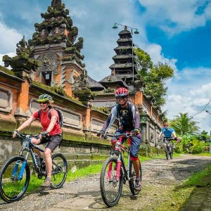 bali cycling tours through Bali villages