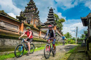 bali cycling tours through Bali villages