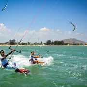 kitesurfing in bali is fun for the entire family