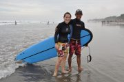 surf lessons in bali for your family