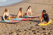 surf lessons in bali seminyak with your family