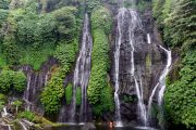experience every part of bali at Banyumala waterfalls