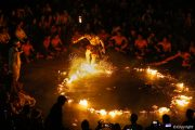 Kecak and Fire Dance Show is a must see in bali
