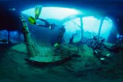 scuba diving in bali at tulamben wreck site