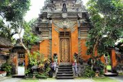 Ubud royal palace is a must see when visiting bali