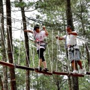 Bali tree top has a range of obstacles