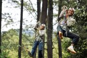 Bali tree top challenge yourself
