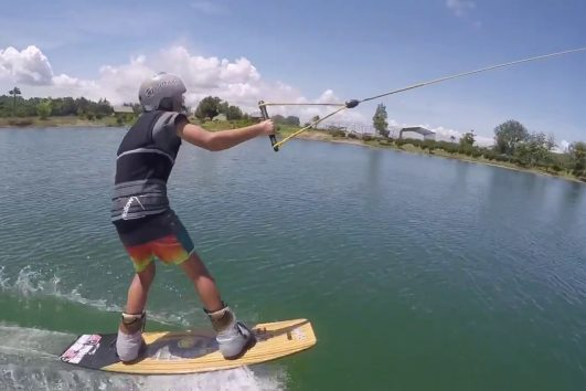 bali wake park taking off