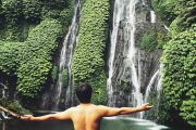 you will be breathless on the banyumala waterfalls bali tour