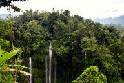 breath taking views at sekumpul Waterfall Bali