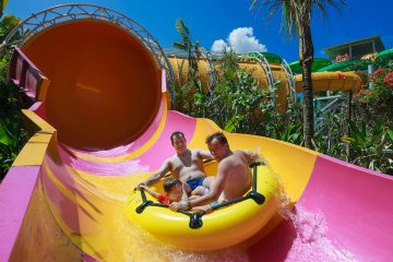 waterbom park bali big slide